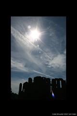 Castle silhouette (Heaven`s Gate (John)) Tags: blue england sky castle silhouette ruin dramatic warwickshire kenilworthcastle johndalkin heavensgatejohn