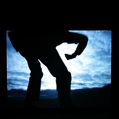 Giant (limerickdoyle) Tags: clouds giant landscape projector horizon projection artinstallation canon400d bigimpact