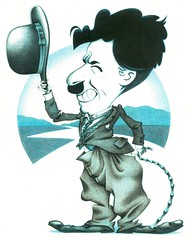 Charlie Chaplin (WilliamsProjects) Tags: caricature comedian charliechaplin gregwilliams silentfilms thelittletramp wikiworld wikiworldcomic