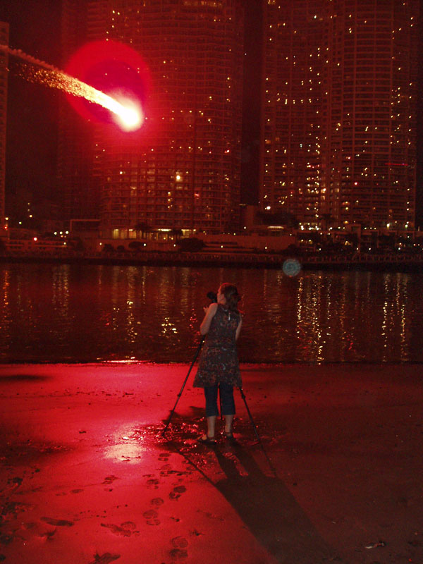 Helen & the fireworks