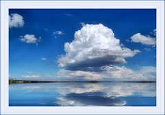 a strange cloud