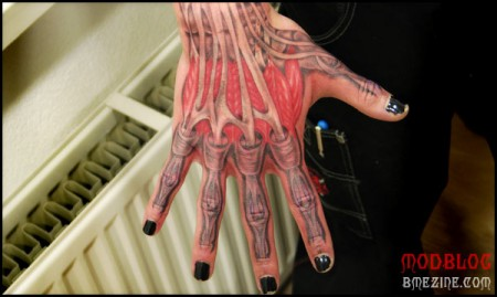 I also started another group on Flickr called Anatomy Tattoos to expand the