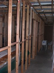 Internal Framing Complete and Waiting for Sheeting
