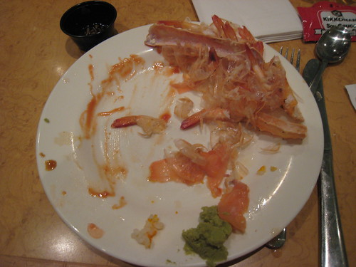 Seafood Buffet Aftermath
