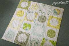 baby circle around (Jaybird Quilts) Tags: quilt fabric heatherbailey circlearound niceyjane jaybirdquilts
