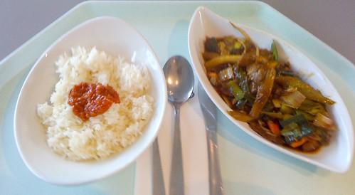 Verschiedene Fleischsorten & Gemüse