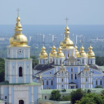 "St. Michael's Golden-Domed Monastery • <a style=""font-size:0.8em;"" href=""http://www.flickr.com/photos/28211982@N07/4730887918/"" target=""_blank"">View on Flickr</a>"