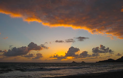 (seua_yai) Tags: travel usa america sunrise hawaii oahu pacificocean kailua lanikai mokuluaislands kailuabeach kailuabay