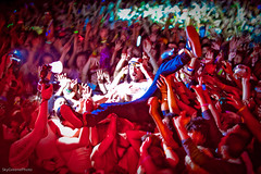 Steve Aoki (THE THER COLLECTION) Tags: sanfrancisco party music house halloween radio dance dj stage crowd event electro techno rave scion booyah live105 steveaoki kofy spookfest cowpalce