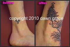 www.dawngrace.com (professional tattooing by dawn grace) Tags: trees woman india chicago black color colour tree art feet up leaves tattoo female stars asian foot grey dawn star back leaf illinois asia artist indian feathers feather ivy peacock grace dot tattoos professional hips cover ribs swirl swirls tatoos rib hip dots henna nouveau tatoo ankle shoulder deco mehndi swirly swishy swoosh tattooing realistic tatooing swoopy rework swills swashy tatooer
