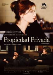 Póster y trailer de 'Propiedad privada'