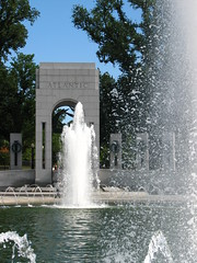 World War II Memorial Fountains