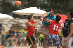 Moving the air !!! Power Shoot !!! (Dakinho) Tags: beach de open playa move moviment handball platja ciutat calella handbol daks 3r balonmano skad dakinho