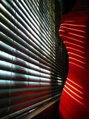 blinds (.emong) Tags: light red interior stripes room shade blinds ih inspiredbylove abigfave platinumheartaward larawangpinoy philippinephotographicsociety