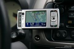 Nokia N95 running TomTom Navigator (eirikso) Tags: gps navigation n95