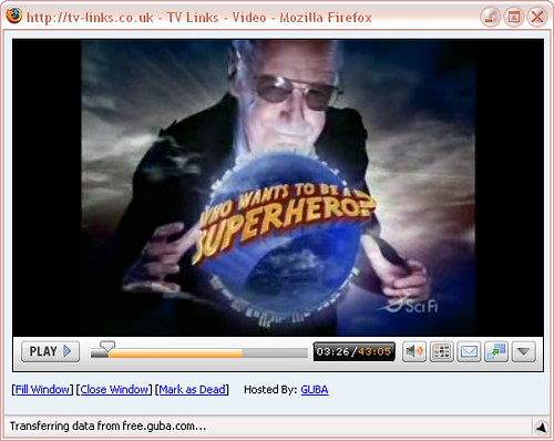 Stan Lee en Who Wants to Be a Superhero