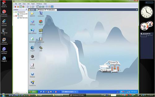 在 Vista 上跑 Vmware 執行 WindowsXP