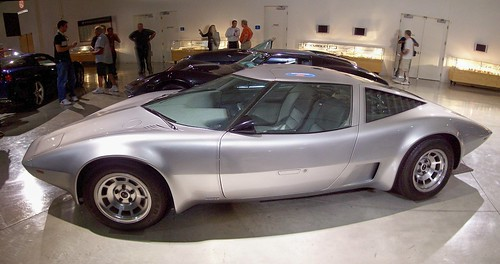 Autostitch of the 1973 Aerovette concept car...