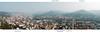 Blick auf Jena vom Jentower (Intershop Tower)