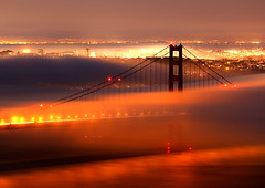 Dark Tower (Rob Kroenert) Tags: sanfrancisco california bridge usa fog night golden gate san francisco long exposure marin goldengatebridge headlands sfchronicle96hrs