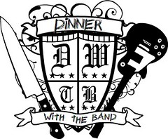 Dinner With The Band Logo