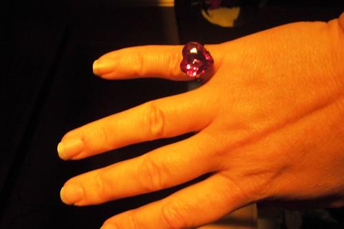 Big plastic ring