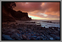 Winscombe Cove (Light Knight) Tags: sunset newzealand beach sunrise dawn cove auckland platinumphoto pentaxk10dpentaxsmc1645da