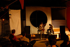 flashpoint, watch this space, Alice Springs (soundsunusual2007) Tags: music photography concert installation watchthisspace dvaa tanjakimme robertcurgenven katiehepworth