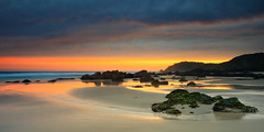 Miners Beach Crop (Tim Donnelly (TimboDon)) Tags: ocean sunset sea seascape canon australia nsw portmacquarie waterscape cokin minersbeach thankmateimissaustralia