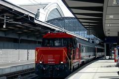 🇨🇭 Ee 922 006 @ Basel SBB (Wesley van Drongelen) Tags: train ir zug sbb basel popemobile trein ffs vauban nmbs cff sncb interregio ee922