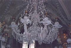 Skull Chandelier (tom_2014) Tags: strange skeleton skull europe czech gothic chandelier ossuary kutnahora czechrepublic easterneurope plague sedlec sedlecossuary bubonicplague gristly skullchandelier