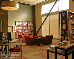Library Reading Area (Group3 Planners, LLC) Tags: architecture colorado brighton furniture library leed planning programming interiordesign publiclibrary rangeview spaceplanning rangeviewlibrarydistrict anythink libraryplanning group3planners sharonrowlen marygulash spaceprogramming furniturespecification