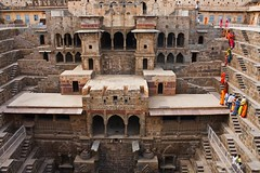 Chand Baori - Abhaneri (Tilak Haria) Tags: india monument water architecture well step rajasthan stepwell chandbaori abhaneri pratibimbsangli waterconsevation