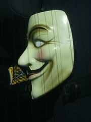 Remember, Remember, the Fifth of November. (Steve Brandon) Tags: ontario canada geotagged candy mask willywonka ottawa guyfawkes suburb vforvendetta nepean anonymous gobstoppers anon bonfirenight 4chan november5th gunpowderplot november5 guyfawkesday btards guyfawkesmask