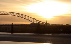 England - Cheshire - Widnes - Silver Jubilee Bridge - 28th October 2010 -42.jpg (Redstone Hill) Tags: england mersey widnes halton rivermersey silverjubileebridge runcornwidnesbridge