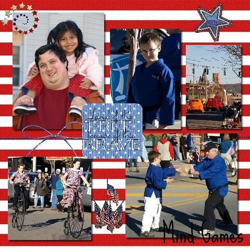 Vet Parade 2 Blanked