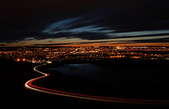 curvilinear (tmod) Tags: city longexposure sunset lake canada reflection cars clouds newfoundland landscape cityscape stjohns nl streaks savedbythedeltemeuncensoredgroup signalhill cotcpersonalfavorite spselection newfoundlandandlabrador tmod tommymarcelodell tommyodell