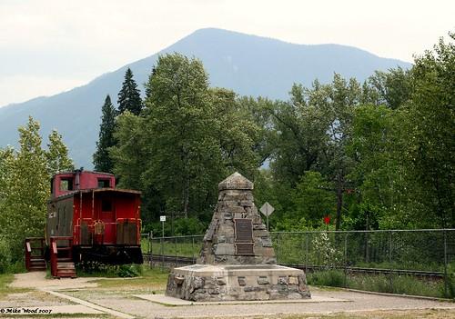 last spike monument
