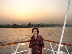 14 พระอาทิตย์ตกที่แม่น้ำไนล์  แม่น้ำที่ยาวที่สุดในโลก