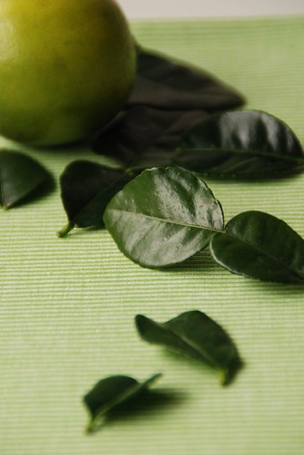 Lime and Kaffir Lime leaves
