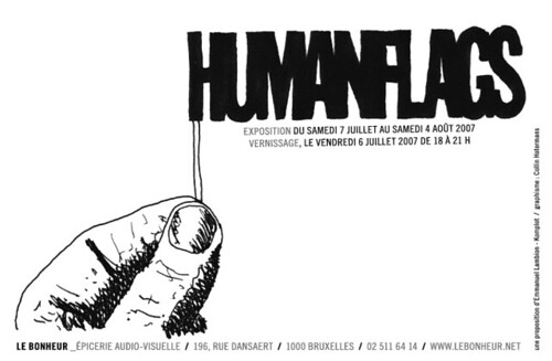 HumanFlags-Flyers