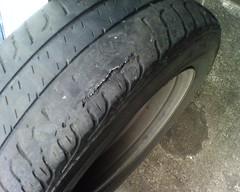 separating tire