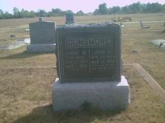 pennsylvania union hobby biography civilwarveteran tombstonephoto johnmdunsmore cof110thpainfantry bornapril251844incincinnatioh thayercemetery thayerkansas