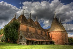 Oast with the Most (Funky Slug) Tags: canon interestingness nt explore nationaltrust hdr oasthouse explored fsphotography sissinghurstcastle 400d brianstevenson funkyslug httpfunkyslugwordpresscom httpwwwfsphotographyonlinecom