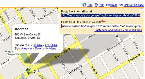 Google Maps Adds Embed Script Tag