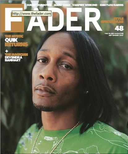 DJ QUIK the fader magazine