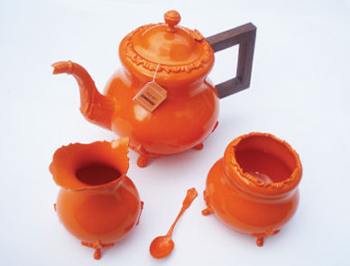 christine misiak's new / old teasets