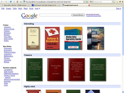 Neues Book Search Design?