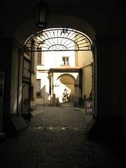 Back alley in Stare Mesto (gelle.dk) Tags: prague staremesto