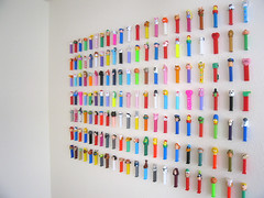 Pez! (Katey Nicosia) Tags: pez wall display collection